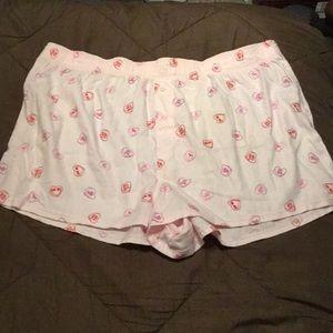 NWT Victoria's Secret valentine's candy pj bottoms